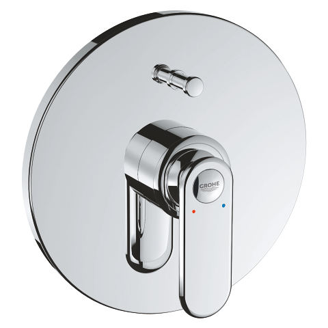Veris Single-lever bath/shower mixer trim