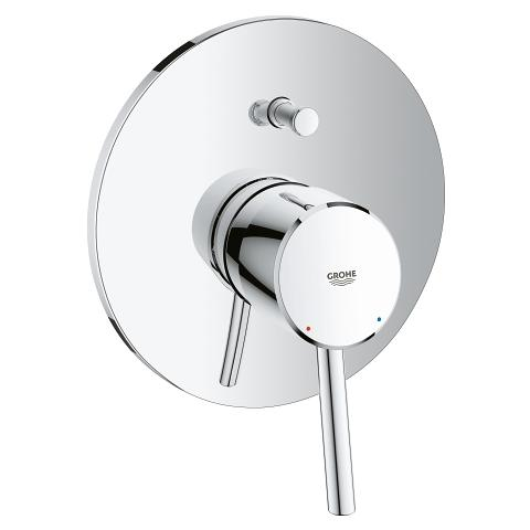Concetto Single-lever bath/shower mixer trim