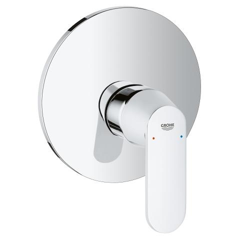 Single-lever shower mixer trim