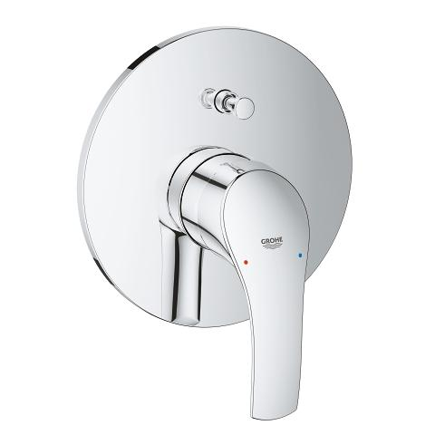 Single-lever bath/shower mixer trim