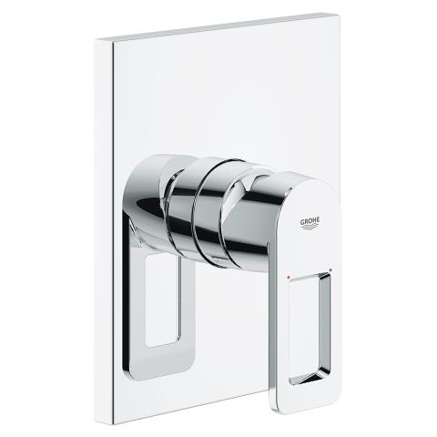 Quadra Single-lever shower mixer trim