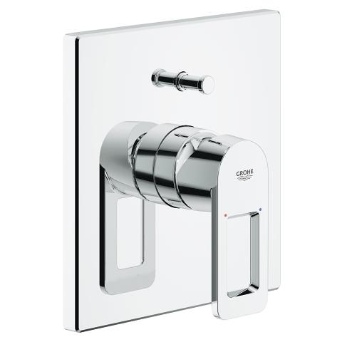 Quadra Single-lever bath/shower mixer trim