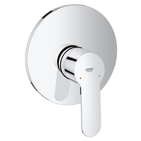 Single-lever shower mixer dummy