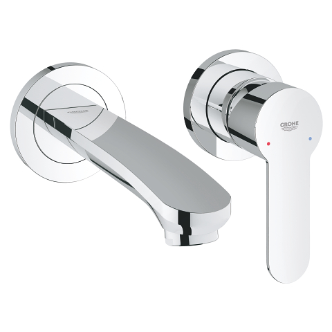 Eurostyle Cosmopolitan Two-hole basin mixer display