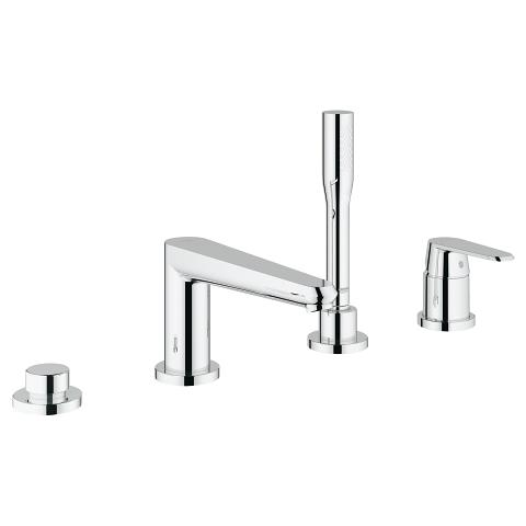 Four-hole single-lever bath combination