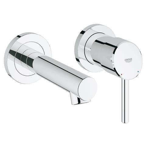 Concetto 2-hole basin mixer S-Size