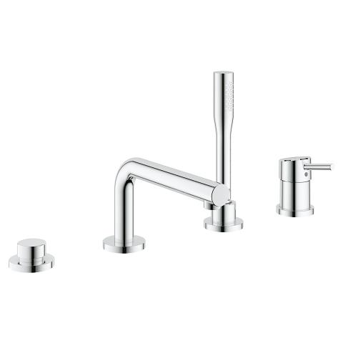 Concetto 4-hole single lever bath combination