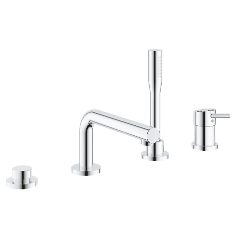 Concetto 4-hole single-lever bath combination