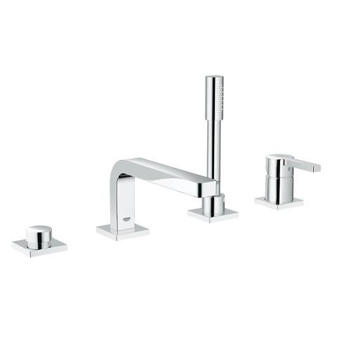 4-hole single-lever bath combination