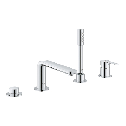 Lineare 4-hole single-lever bath combination