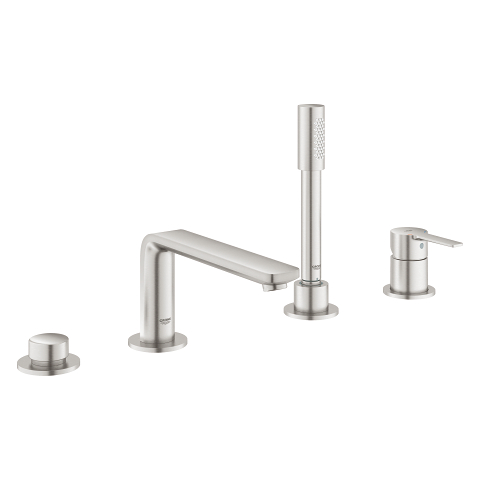 Lineare Four-hole single-lever bath combination