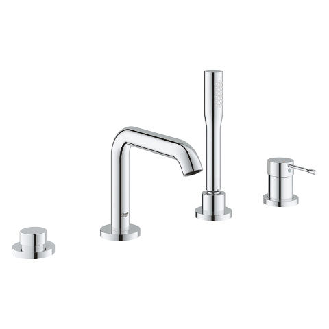 Essence 4-hole single lever bath combination