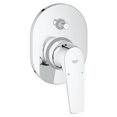 GROHE BauFlow Single-lever bath/shower mixer