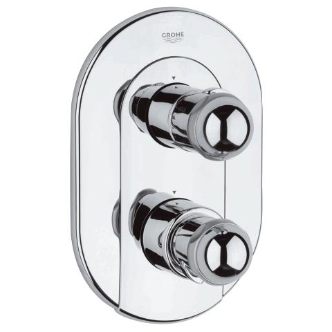 Sentosa Thermostatic bath/shower mixer trim