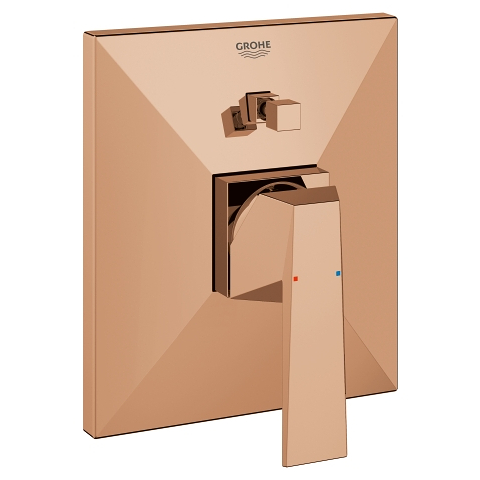 Allure Brilliant Single-lever bath/shower mixer trim