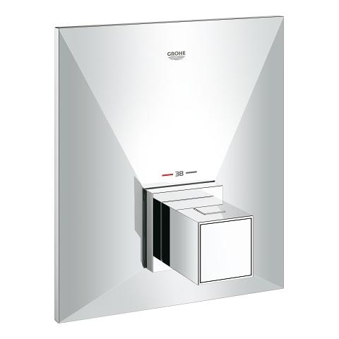 Allure Brilliant Thermostat for bath and/or shower