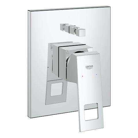 Eurocube Single-lever bath/shower mixer trim