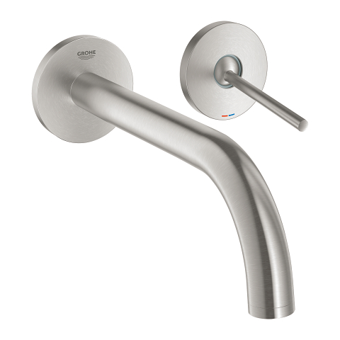 Atrio Two-hole basin mixer joystick