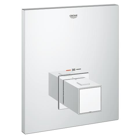 Grohtherm Cube Trim for thermostatic shower valve