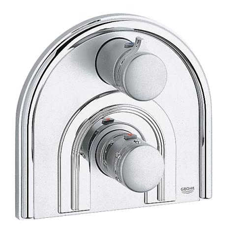 Chiara Thermostat bath/shower mixer