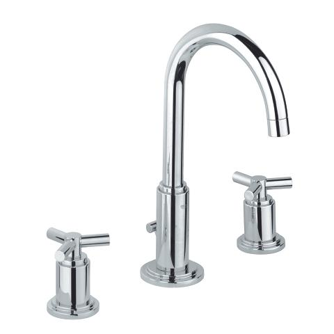Atrio Three-hole basin mixer 1/2″ M-Size