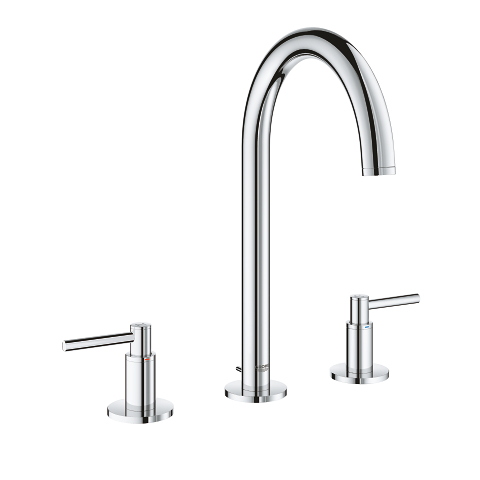Three-hole basin mixer 1/2″ M-Size