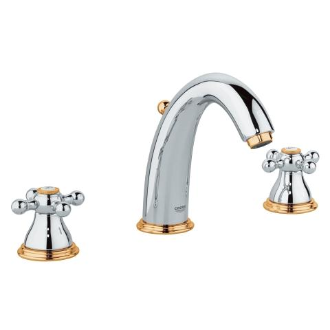 Sinfonia 3-hole basin mixer