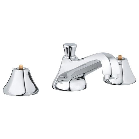 Somerset 3-hole basin mixer