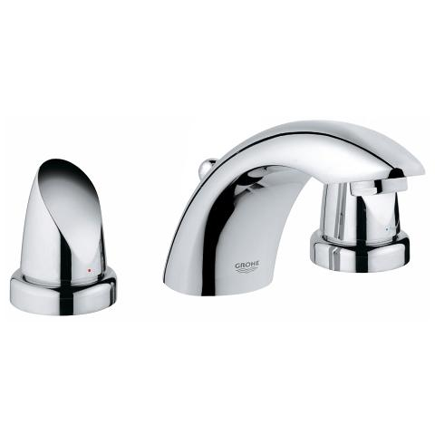 Aria Three-hole basin mixer 1/2″