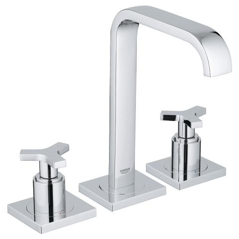 Allure 3-hole basin mixer M-Size