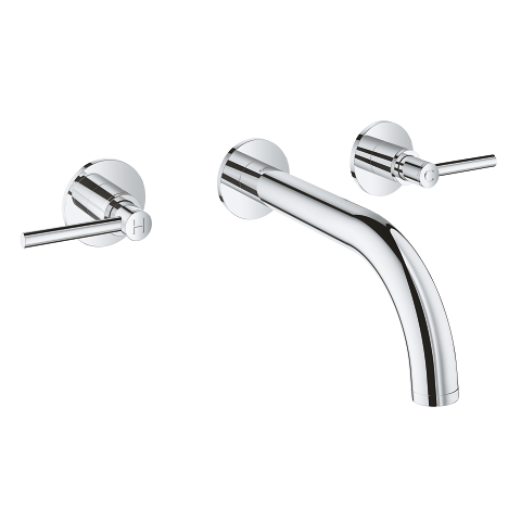 Atrio Three-hole basin mixer 1/2″ S-Size