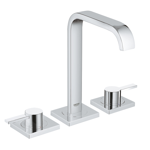 Allure Three-hole basin mixer 1/2″ M-Size