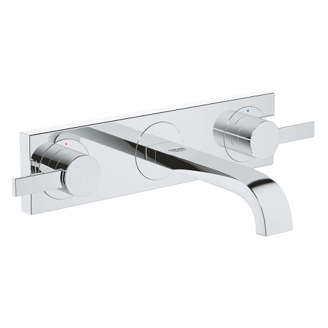 Allure 3-hole basin mixer S-Size