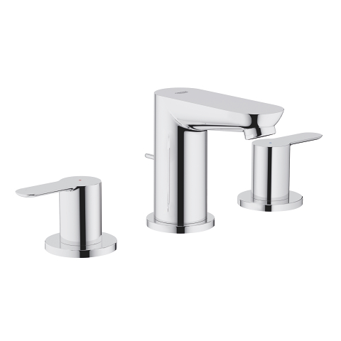 BauEdge 3-hole basin mixer