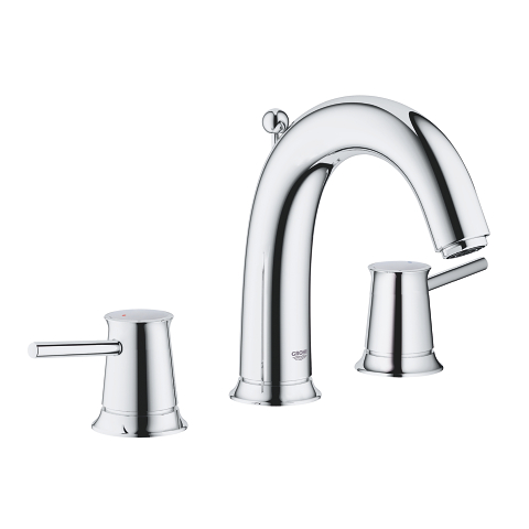 3-hole basin mixer