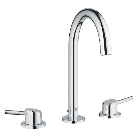 Concetto 3-hole basin mixer 1/2″ L-Size