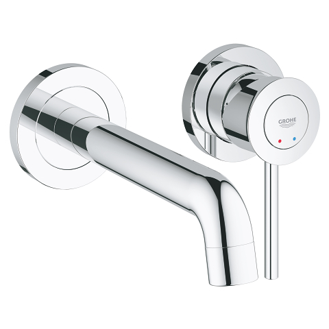2-hole basin mixer