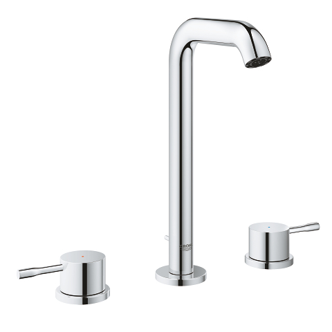 Essence 3-hole basin mixer with high spout L-Size