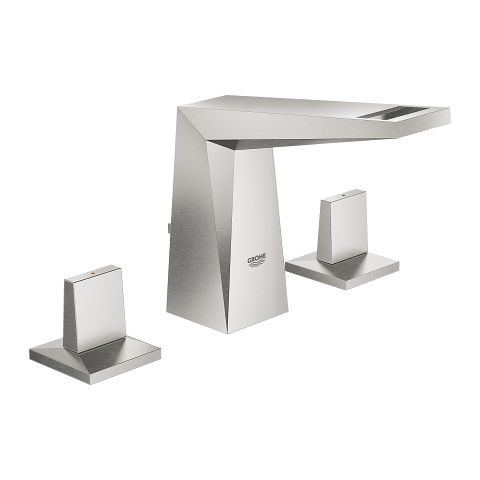 Allure Brilliant Three-hole basin mixer 1/2″ S-Size