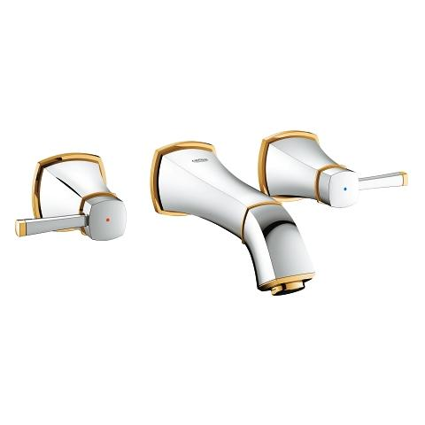 Three-hole basin mixer dummy