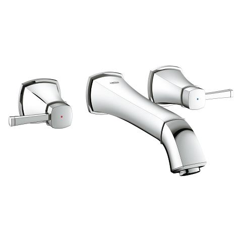 Grandera Three-hole basin mixer 1/2″ M-Size