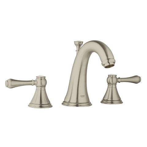 Geneva 3-hole basin mixer