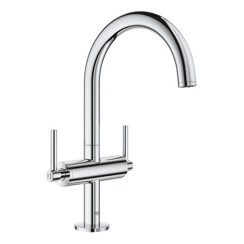 Atrio Single-hole basin mixer L-Size