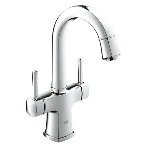 Grandera Two-handle basin mixer, 1/2″ L-Size