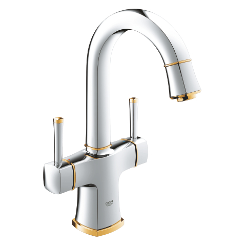 Two-handle basin mixer, 1/2″ L-Size