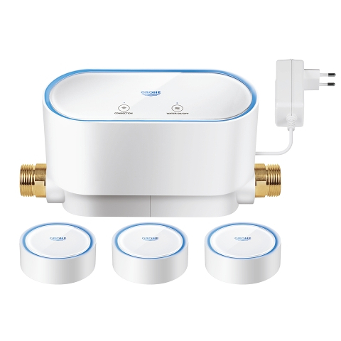GROHE Sense kit Smart lekkasjestopper + 3 x smart vannsensorer