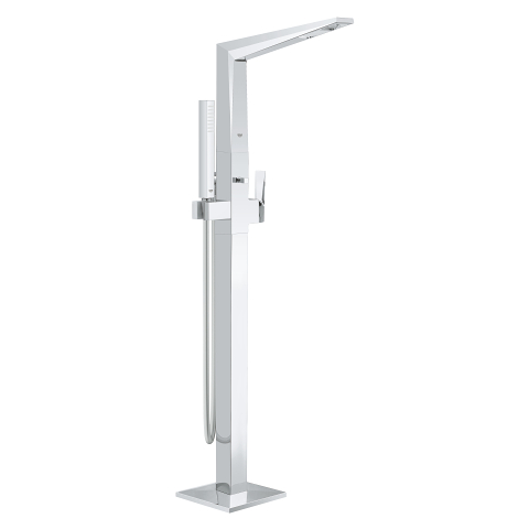 Allure Brilliant Single-lever bath mixer 1/2″ floor mounted