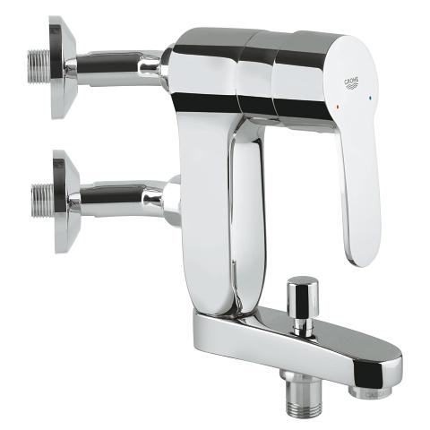 Vertica single lever bath mixer, 1/2″