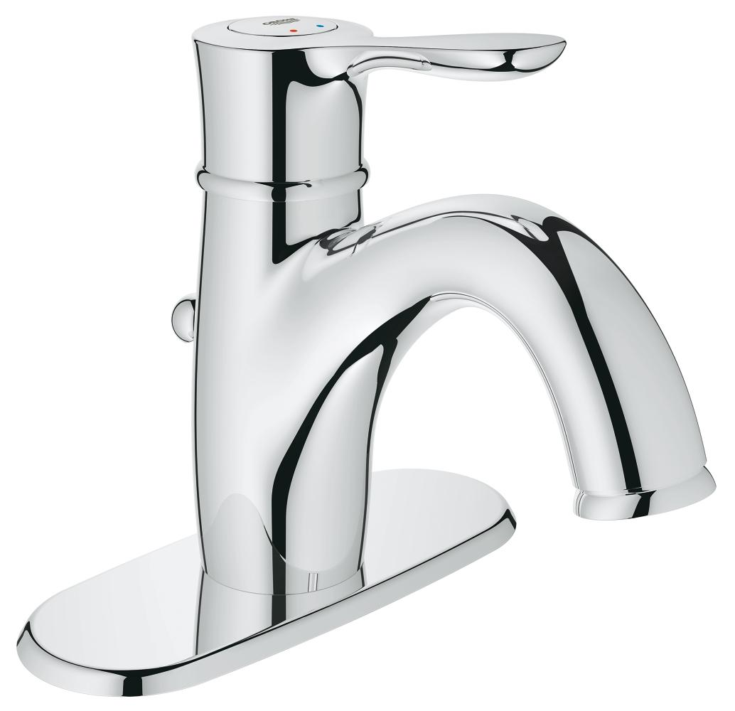 //WSL// GROHE 23 306 000 PARKFIELD CHROME LAV CENTERSET WITH ESCUTCHEON MC338120