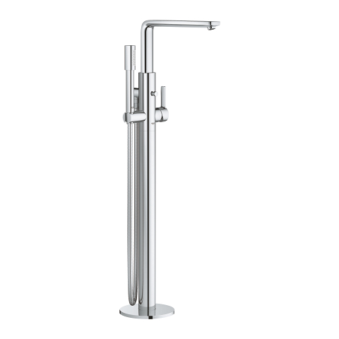 Lineare Single-lever bath mixer 1/2″, floor mounted